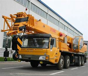 China 35 Tons Mobile Truck Crane With Weichai Engine