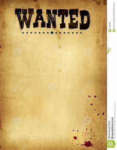 Free Clip Art Wanted Poster Template | Cowboy 2 ...