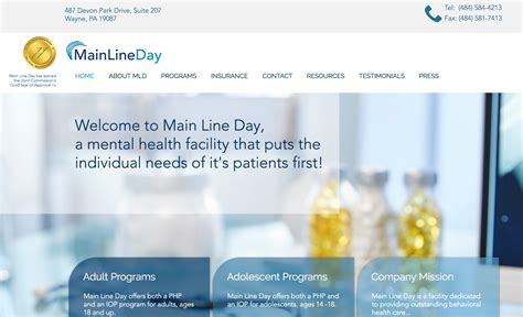 Press alt + / to open this menu. Insurance Coverage | Main Line Day
