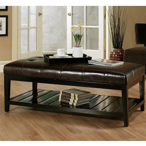 Ikea living room furniture sofa. Top 50 Brown Leather Ottoman Coffee Tables | Coffee Table Ideas