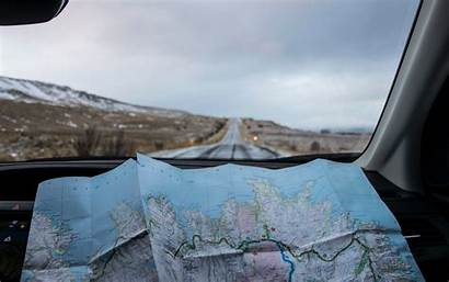 Travel Road Map Trip 4k Ultra