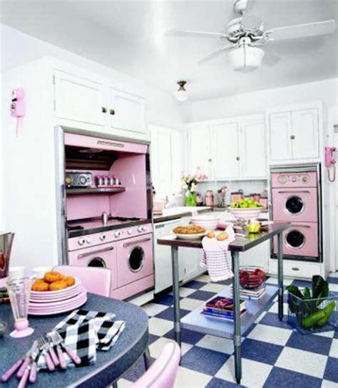 pink vintage kitchen accessories pink retro kitchen decorating ideas vintage kitchen decor 4238
