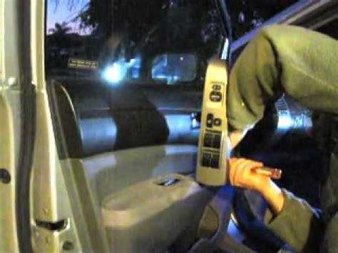 toyota door lock repair part  accessing actuator