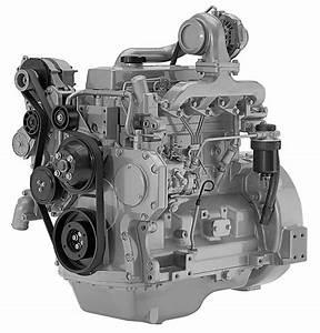 Remanufactured John Deere 4045tf  U0026 4045hf Diesel Engine No Ecu