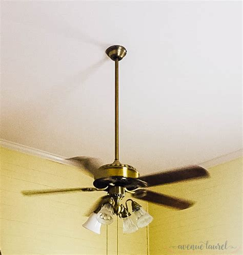 ceiling fan light covers for the win easiest update