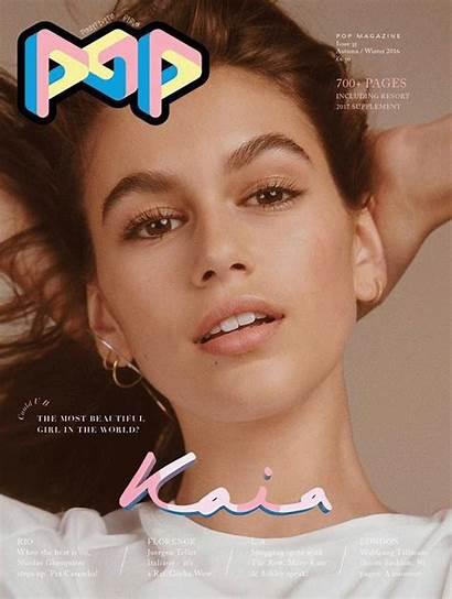 Gerber Kaia Magazine Pop Cindy Crawford Covers