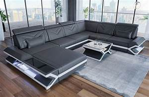 Sofa Dreams : xl modern sofa san francisco modern with lighting in leather ~ A.2002-acura-tl-radio.info Haus und Dekorationen