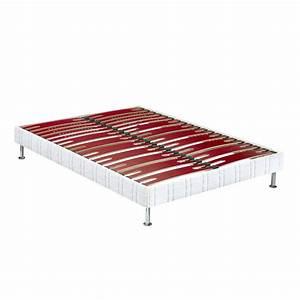 sommier tapissier bultex confort morphologique bi lattes With tapis berbere avec canapé convertible matelas bultex 14 cm