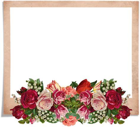 bingkai bunga   clip art   transparent