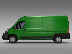 Van Peugeot : peugeot boxer van l3h2 2006 2014 3d model flatpyramid ~ Melissatoandfro.com Idées de Décoration