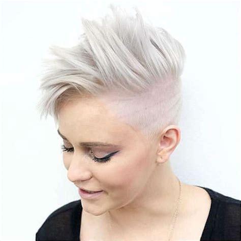 white hair haircuts short hairstyles white hair fashion and women