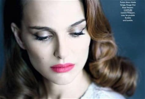 Natalie Portman For Elle France Mathieu Cesar