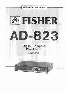 Download Fisher Ad 823 Service Manual