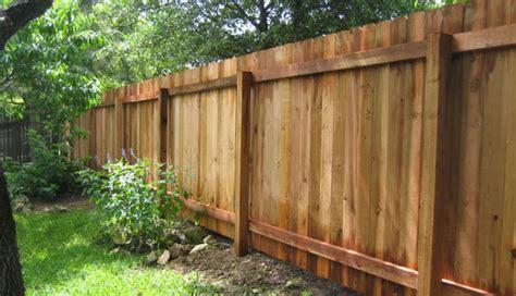 wood fence austin tx privacy fencing company cedar