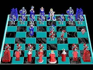 Battle Chess MS DOS Gameplay YouTube