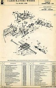 Weber Carburetor Diagrams