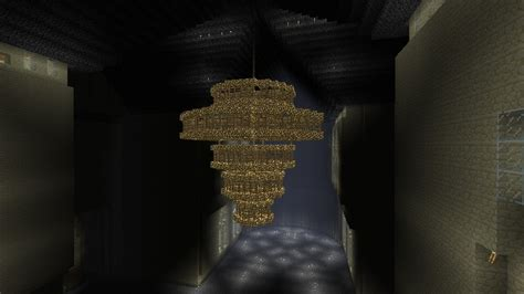 mega chandelier minecraft project