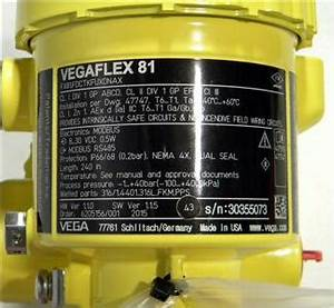 Vega Vegaflex 81 Guided Wave Radar Level  U0026 Interface