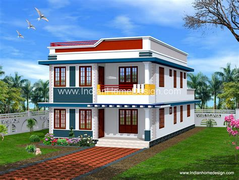terrific simple kerala style home exterior design for