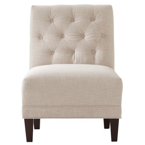 home decorators collection lakewood linen peal tufted arm