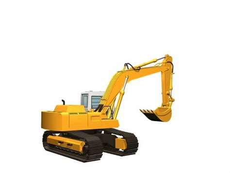 animation   construction digger mechanical excavator   retro style stock footage