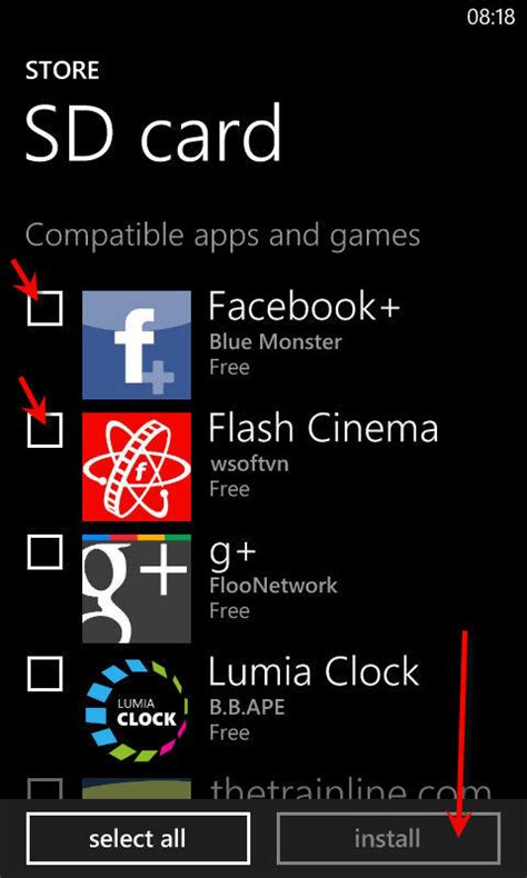 how to mnually install xap apps to windows phone 8
