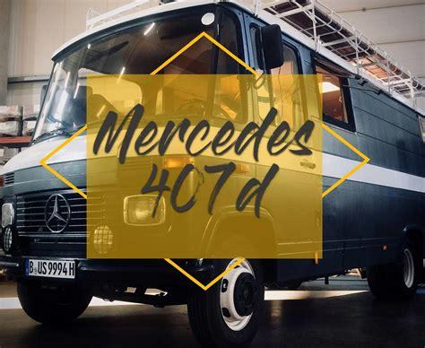 Gebraucht Kaufen by Mercedes 407d Als Gebrauchtes Wohnmobil Ausbauen