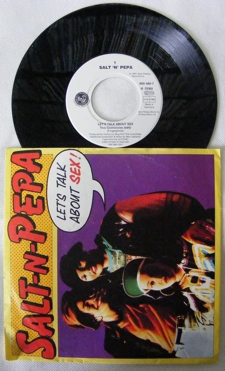 Salt N Pepa Let S Talk About Sex Vinyl Records Lp Cd