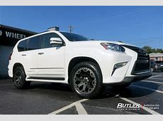 Lexus GX with 20in Black Rhino Warlord Wheels exclusively