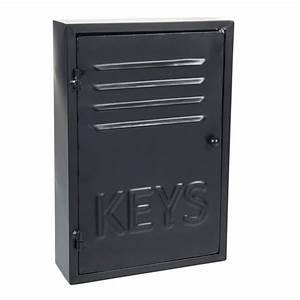 Boîte à Clés : bo te cl s en m tal h 30 cm black keys maisons du monde ~ Teatrodelosmanantiales.com Idées de Décoration