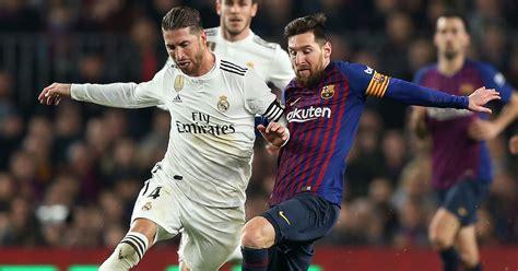 Dónde, cómo y cuándo ver El Clásico FC Barcelona vs. Real ...