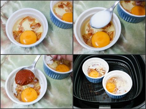 fryer air recipes airfryer eggs bacon philips recipe food frying baked breakfast brunch cooking delicious resepi cake singapore using whipping