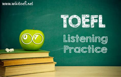listening test toefl ibt listening practice test 07 from barron s toefl ibt