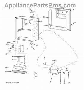 Parts For Ge Gmr02banabb  Refrigerator Parts
