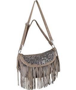 Leather Fringe Crossbody Purses