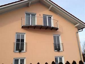 franzosischer balkon aus metall With französischer balkon mit kunst aus metall für garten