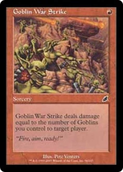 Goblin Charbelcher Edh Deck by Goblin Commanders Edh