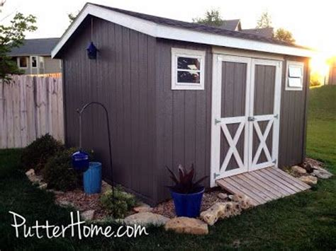 17 best ideas about shed paint colours on
