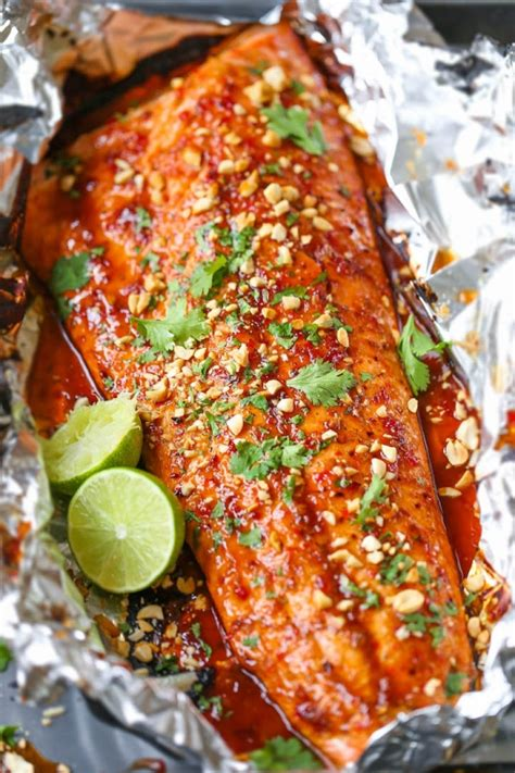 thai salmon  foil keeprecipes  universal recipe box