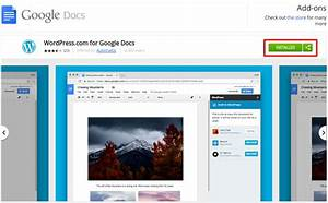 wordpresscom unveils google docs extension for collaboration With google docs windows installer