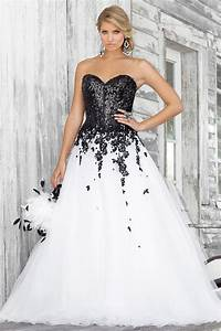 wholesale 2014 plus size dresses black white lace With black and white plus size wedding dresses
