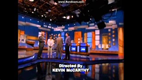 jeopardy credit roll  hd youtube