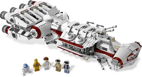 Whats Missing A New Hope Brickset Lego Set Guide And