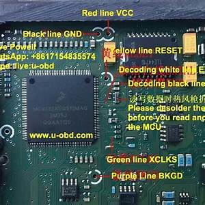 Wiring Diagram For Vvdi Prog Read Delphi Mt22 1 Mc9s12xeq512mag 3m25j  Vvdi Prog        U