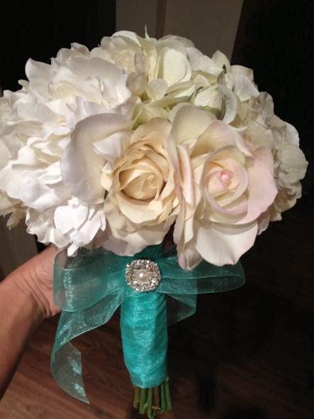 diy silk flower bouquet    ladies