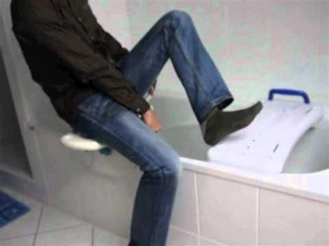 aquasenior le nouveau siège de bain pivotant