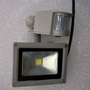Pir Motion Sensor Led Flood Light 10w 20w 30w 50w Ac 85