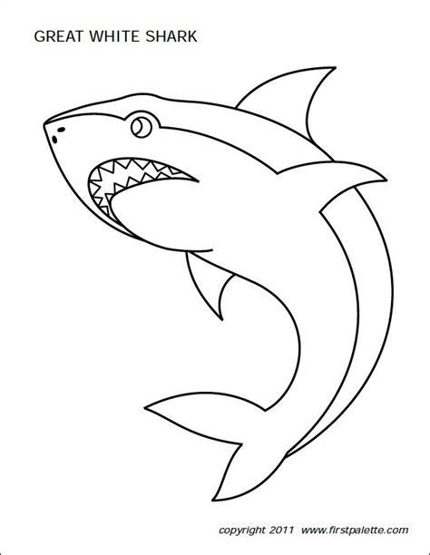 freebie friday   shark printables