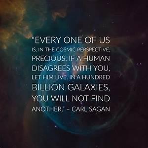 30 Precious Car... Sagan Famous Quotes