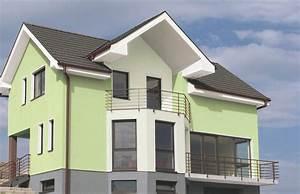 Welche Farbe Für Außenfassade : ideen f r die farbgestaltung von fassaden alpina drau en wohnen ~ Sanjose-hotels-ca.com Haus und Dekorationen